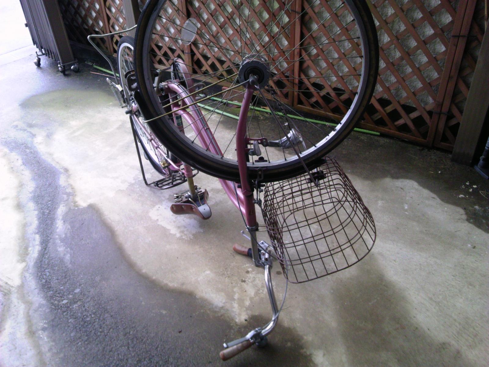 自転車タイヤ交換2
