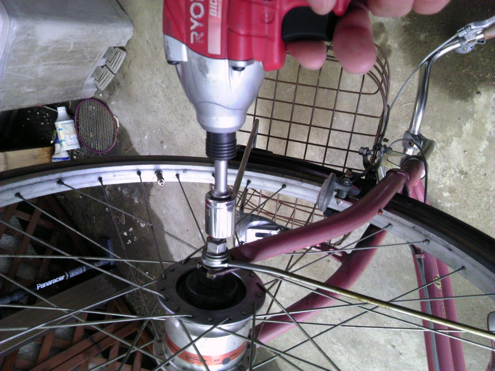 自転車タイヤ交換3