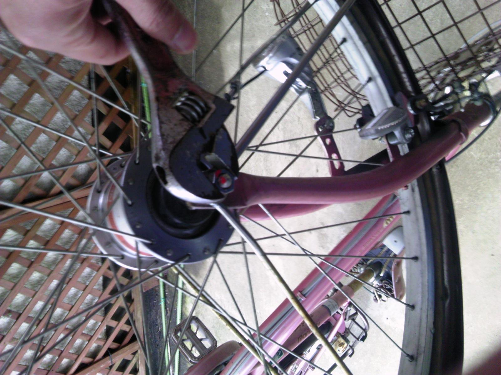 自転車タイヤ交換4