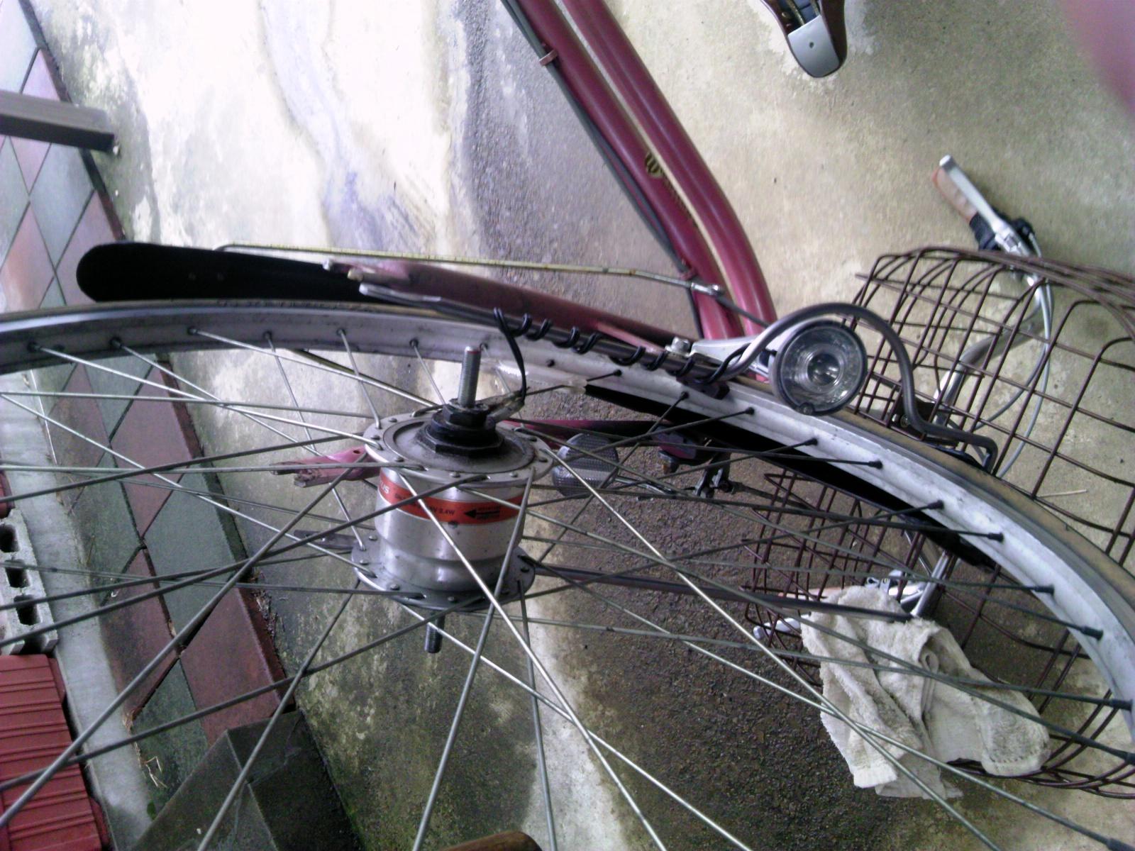 自転車タイヤ交換5