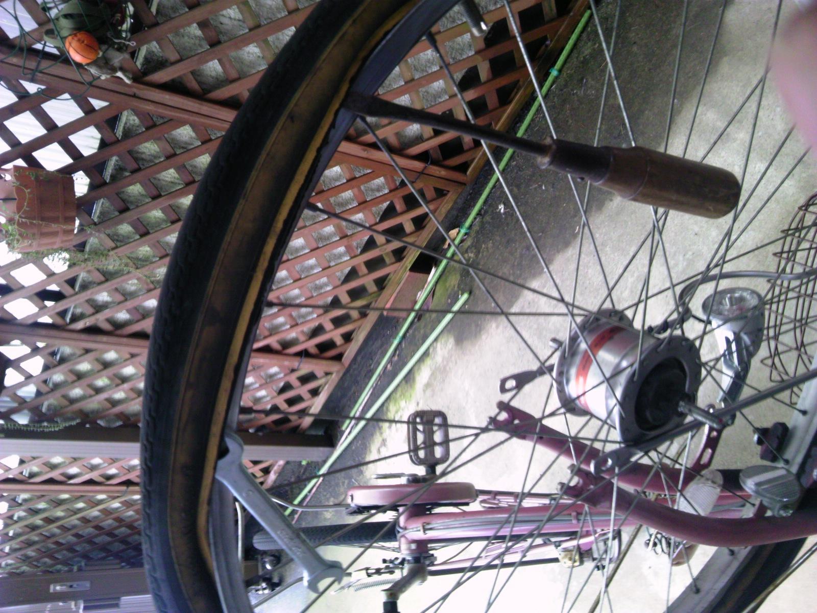 自転車タイヤ交換6